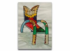 Romantisk stol för tvål